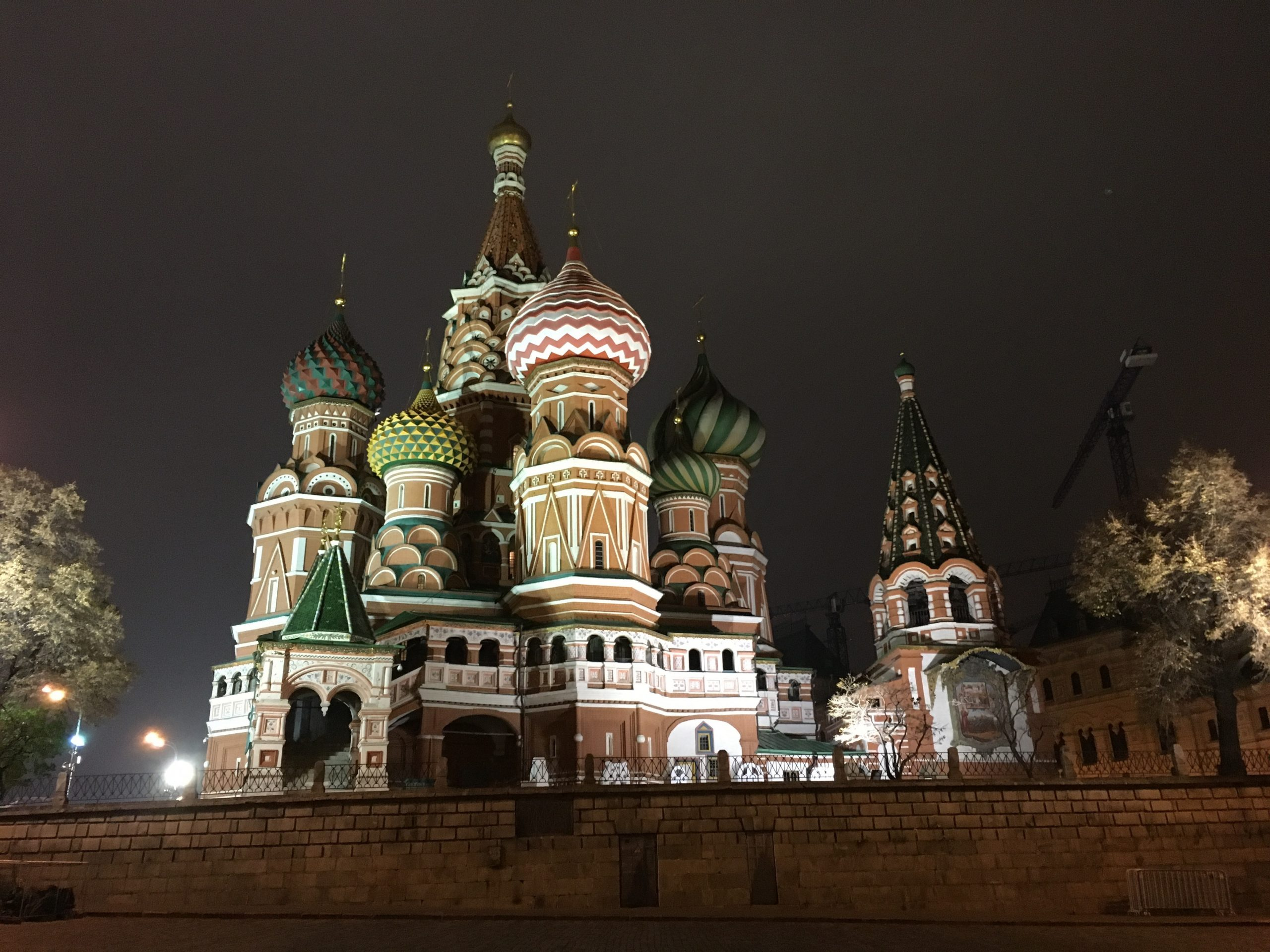 echoes in Moscow