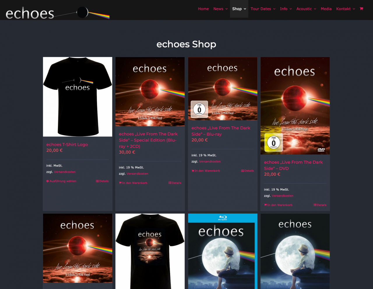 echoes webshop