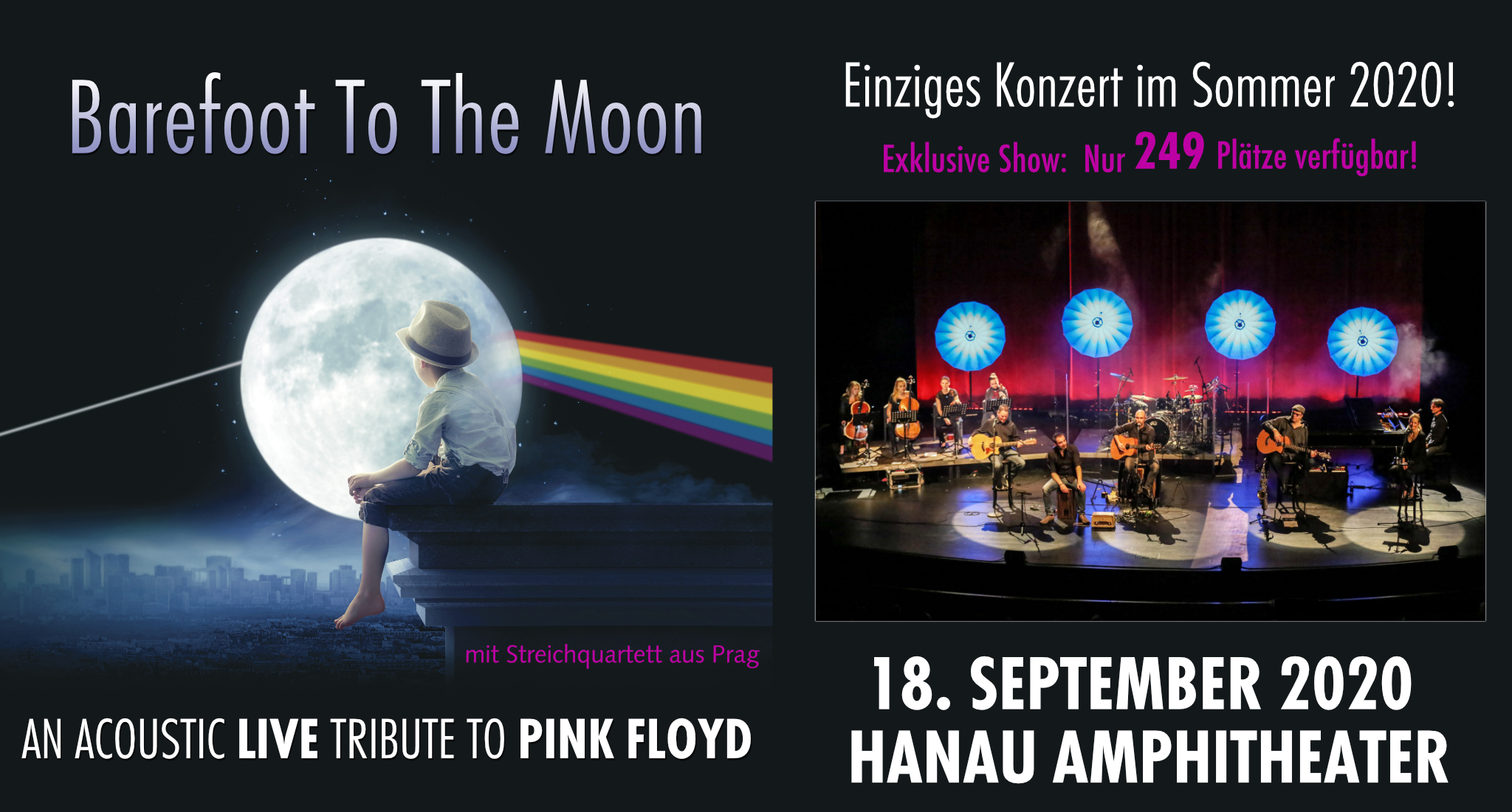 echoes Hanau Amphitheater 2020 Barefoot To The Moon Special Show