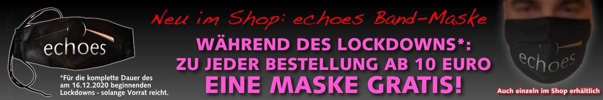 Shopaktion echoes Maske