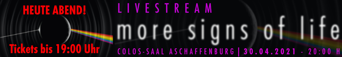"""echoes - livestream """"more signs of life"""""""