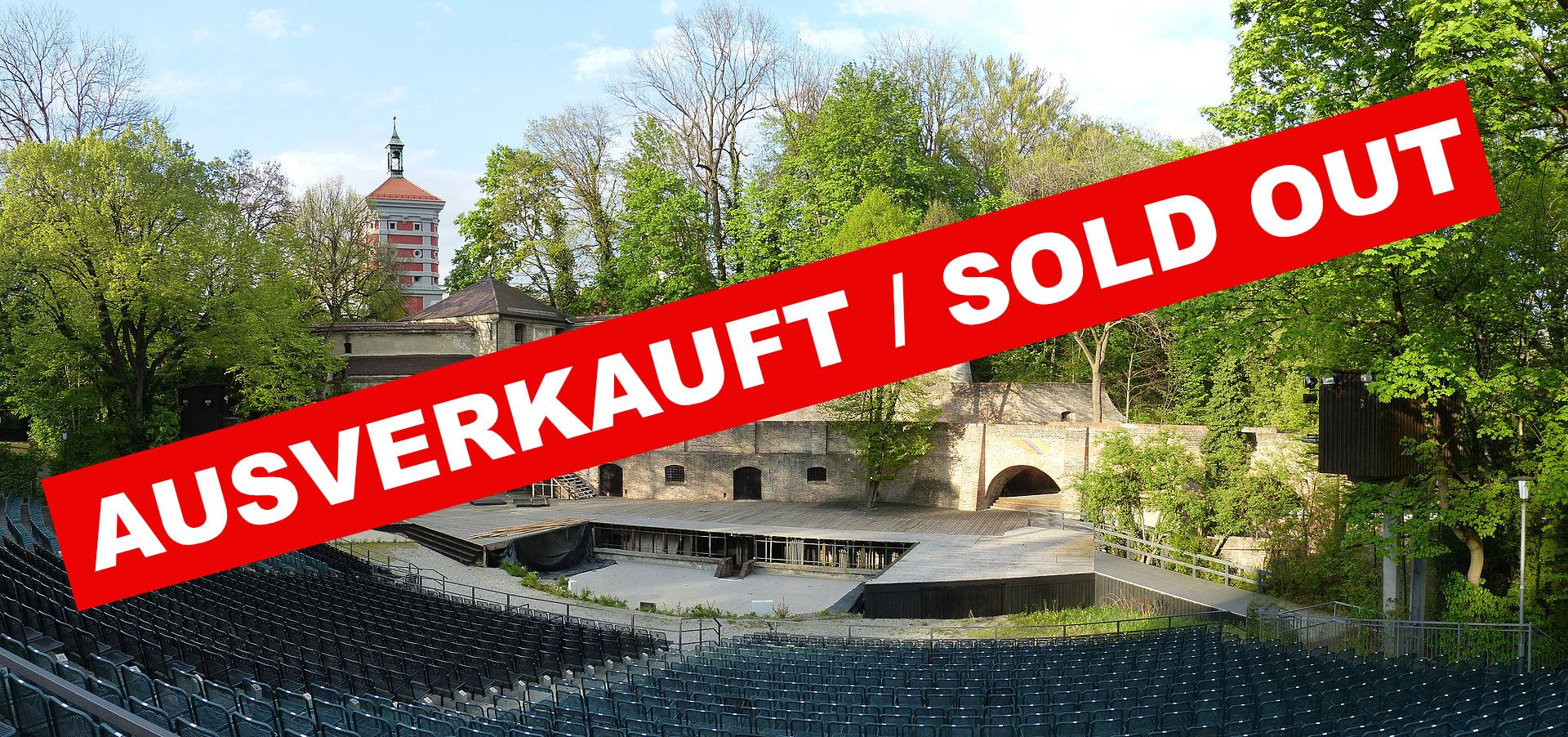 Echoes Augsburg Freilichtbühne ausverkauft / sold out